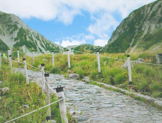 Alpine Route au sommet, Toyama
