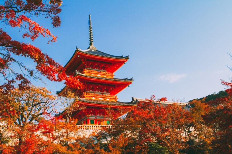 kyoto kiyomizu automne alice