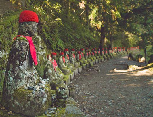 Jizo de Kanman-ga-fuchi, Nikko