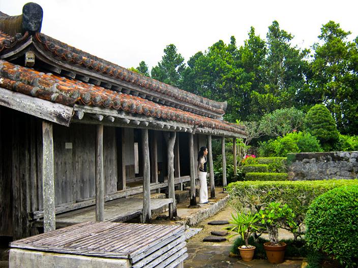 Uezu residence garden