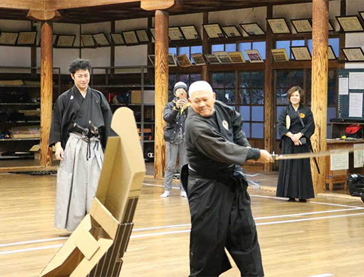 'IAI-DO' Workshop with a genuine Master of 'Katana'!