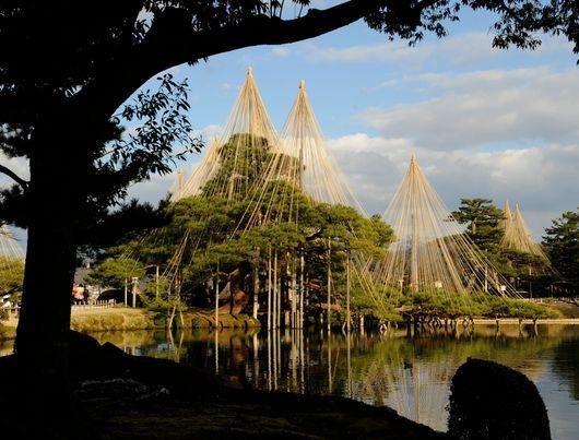 Jardin Kenrokuen, Kanazawa