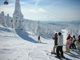Ski à Zao Onsen, Yamagata
