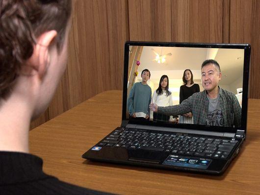 Discussion avec une famille japonaise