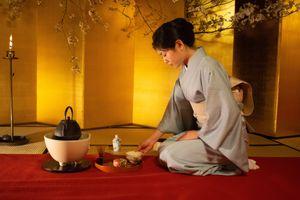Cérémonie du thé à Kyoto